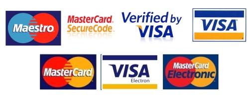 Loga platebních karet a společností