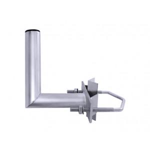 Držák na silný stožár do 90 mm - odskok 15 cm