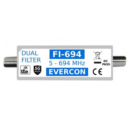 Duální 5G + LTE filtr EVERCON FI-694