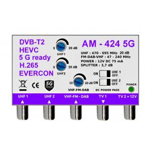 5G READY anténní zesilovač EVERCON AM-424 5G