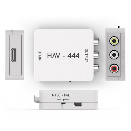 Redukce HDMI- CINCH Mastercon HAV-444
