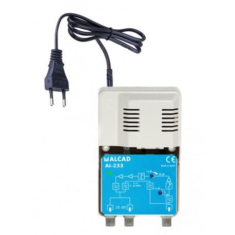 Domovní zesilovač ALCAD AI-233 20 dB