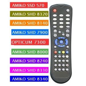 Dálkový ovládač AMIKO HD univerzální