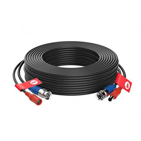 Napájecí a signálový kabel pro kamery EVERCON AHD-20 BLACK