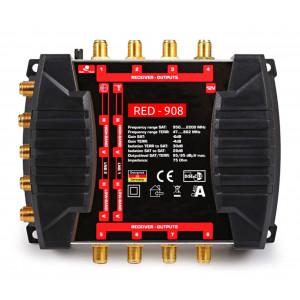 Multipřepínač - aktivní rozbočovač RED-908 pro Skylink
