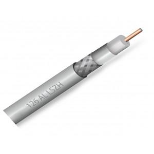 Nehořlavý koaxiální kabel ZIRCON 126 CU AL LSZH