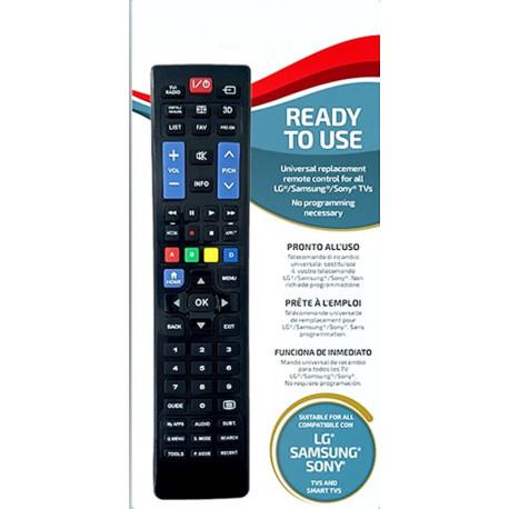 Univerzální dálkový ovládač pro TV LG - Samsung - Sony