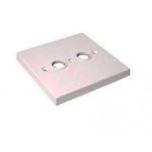 Triax TOU STD UK2 kryt zásuvky TV+R bílá barva